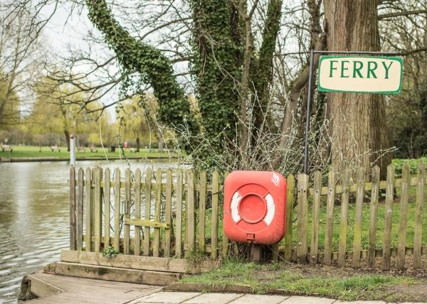 Avon River Ferry, Stratford-Upon-Avon