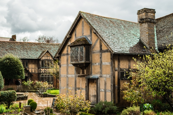 Garden's at Shakespeare's Birthplace, Stratford-Upon-Avon