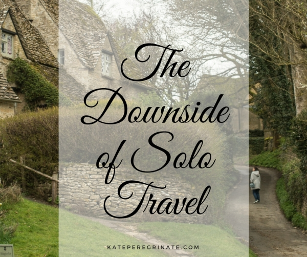 The Downside of Solo Travel